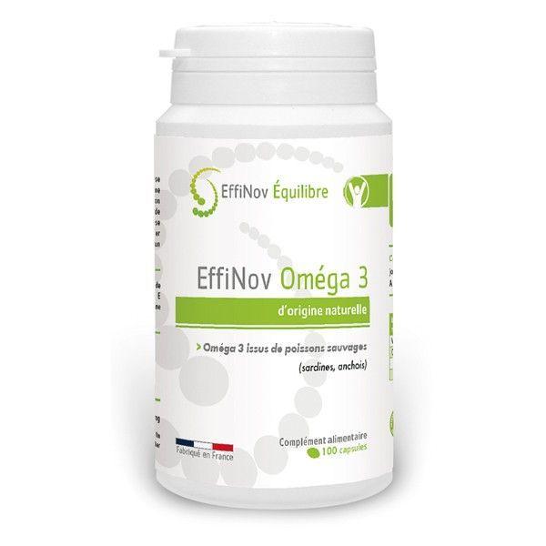 Achetez à prix discount l'oméga 3 de Effinov Equilibre 100 capsules