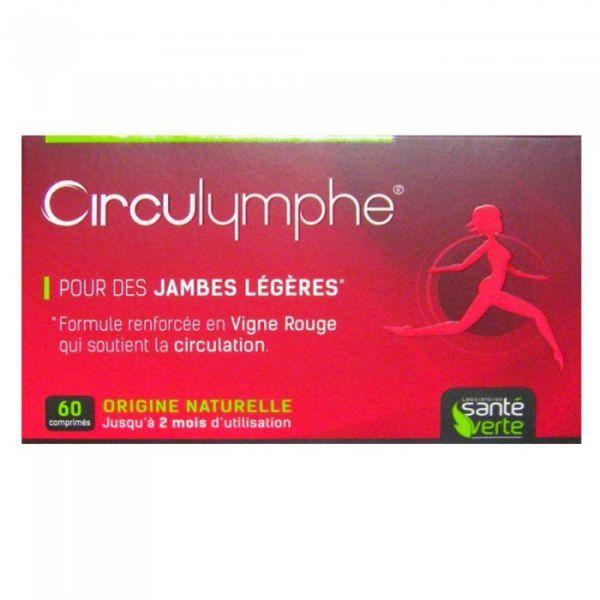 Circulymphe boîte de 60 comprimés à prix discount  Santé Verte