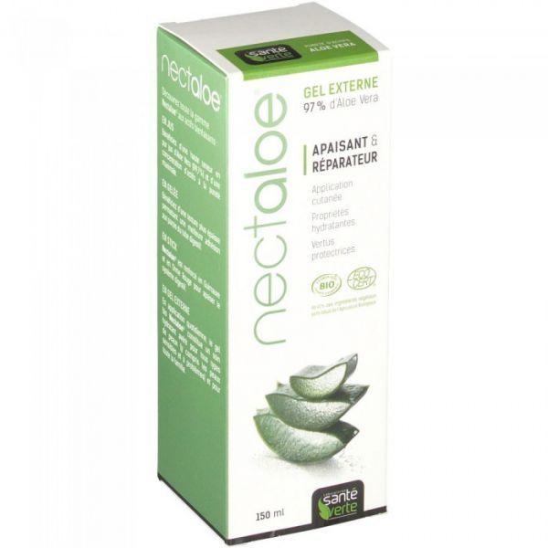 Nectaloe Gel Bio 150 ml au meilleur prix  Santé Verte