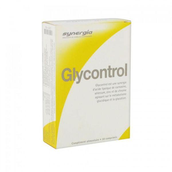 Glycontrol 30 comprimés à prix bas| Synergia
