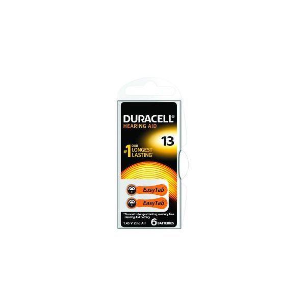 Achetez Duracell Piles Auditives N°13 x6  moins cher