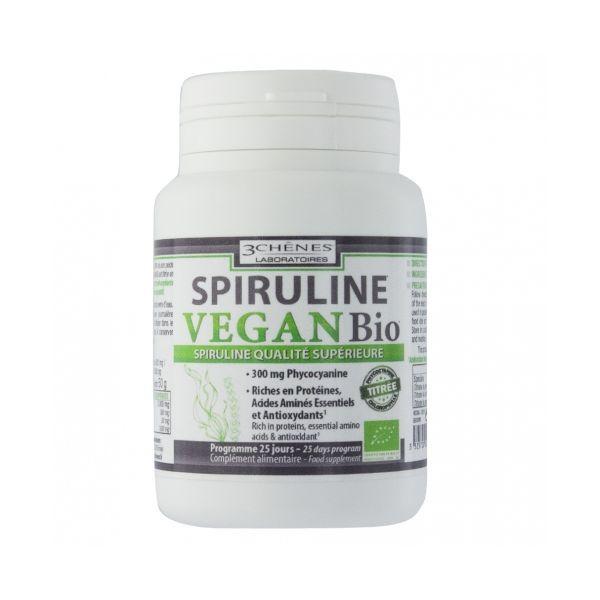 Spiruline Biologique 100 comprimés à prix discount| Les 3 Chênes