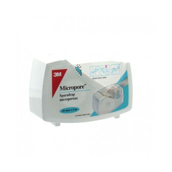 3M MICROPORE SPARADRAP 25MMx5M