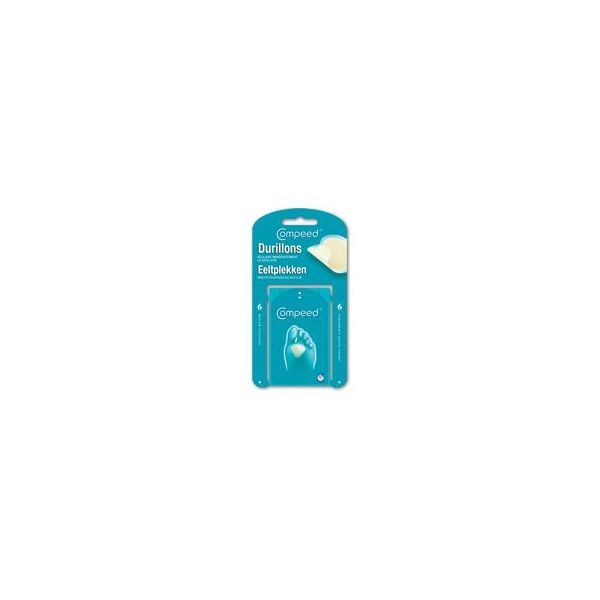 Durillons Moyen Format Bte de 6 moins cher| Compeed