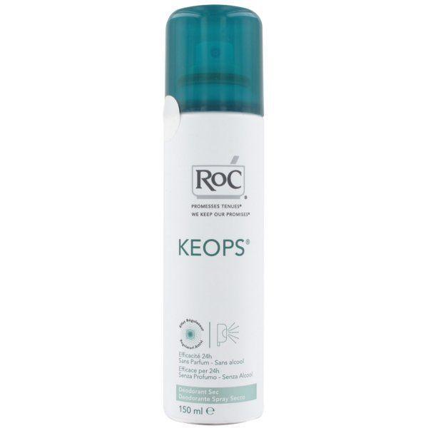 Keops Déodorant sec Atomiseur 150 ml à prix discount| RoC