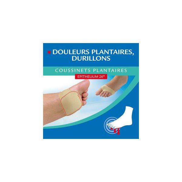 Coussinets Plantaires Epithelium 26 Douleurs Plantaires, Durillons Taille S 36/38 au meilleur prix| Epitact