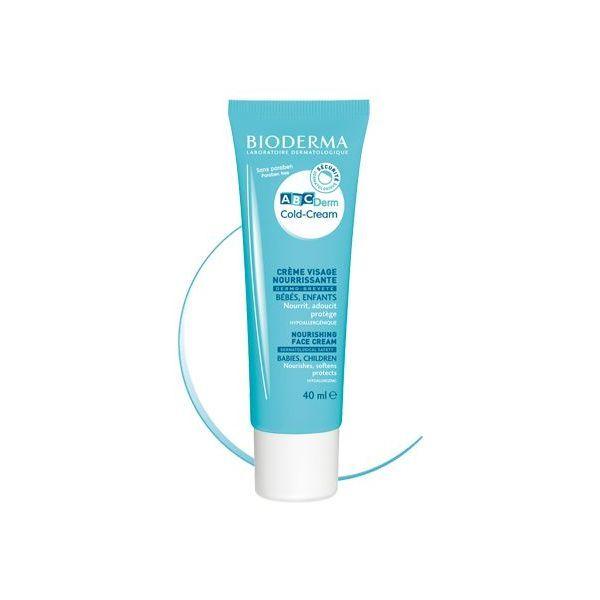 ABCderm Cold Cream Visage 40ml moins cher| Bioderma