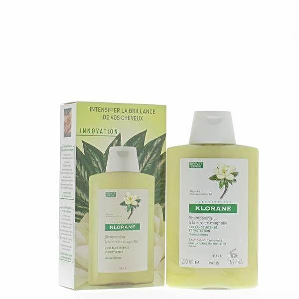 Shampooing à la Cire de Magnolia 200 ml  au meilleur prix  Klorane