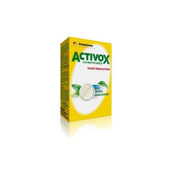 Comprimés pour Inhalation 20 comprimés moins cher| activox