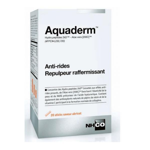 Aquaderm 20 sticks-gel au meilleur prix| NH-CO