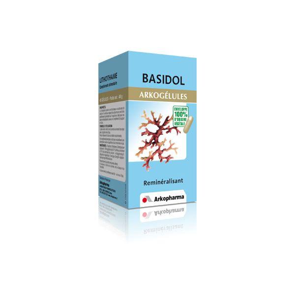 Basidol  Lithothame 45 gélules à prix bas  Arkogélules