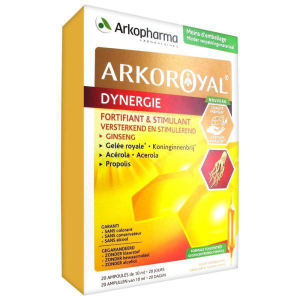 Dynergie 20 ampoules à prix bas| Arko Royal