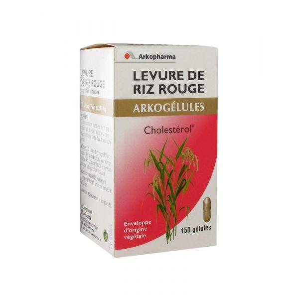 Levure de Riz Rouge 150 gelules à prix discount| Arkogélules