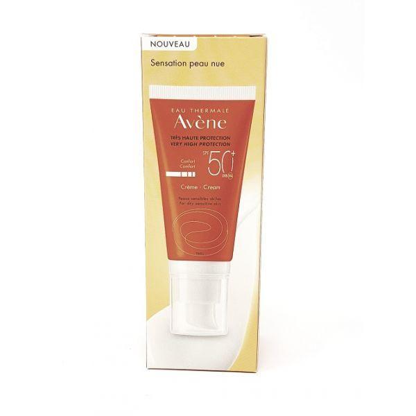 Crème confort Solaire spf50+ Avène
