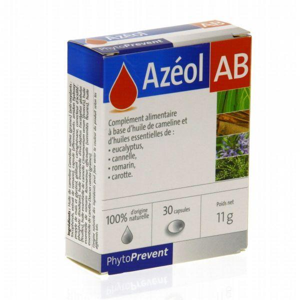 Achetez Azéol AB 30 capsules (PhytoPrevent) moins cher