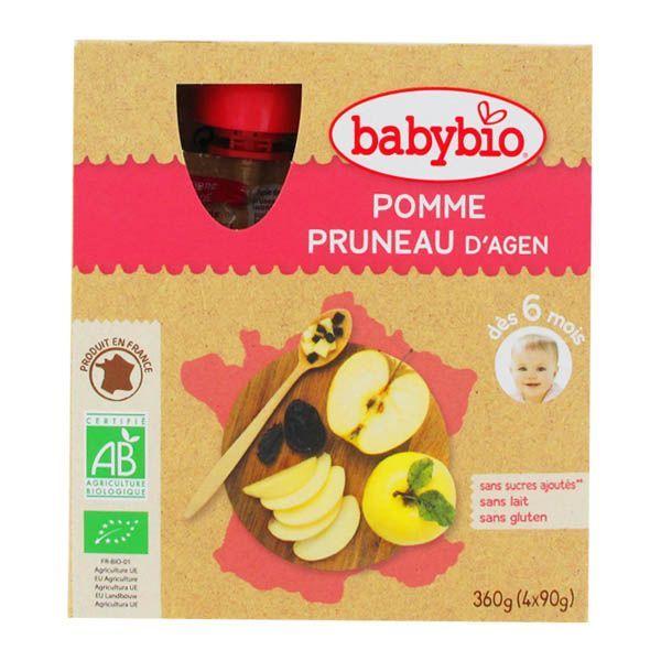 Achetez au meilleur prix les Gourdes Pomme Pruneau d'Agen de Babybio