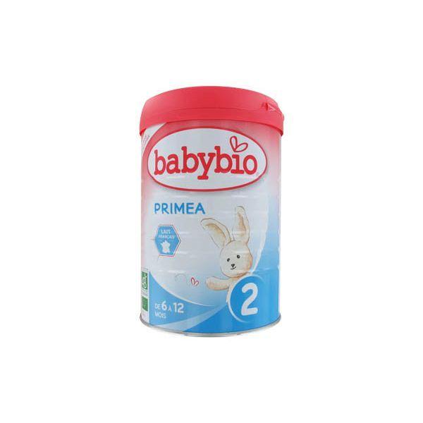 Babybio primera 6-12m lait pas cher