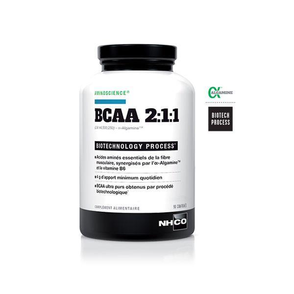 BCAA 2:1:1 Récupération 90 comprimés au meilleur prix| NH-CO