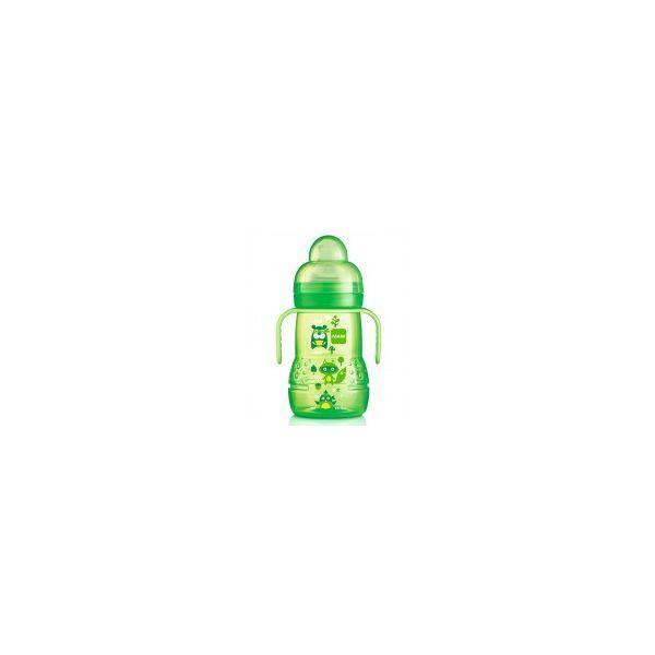Biberon de transition 220ml Vert au meilleur prix| MAM