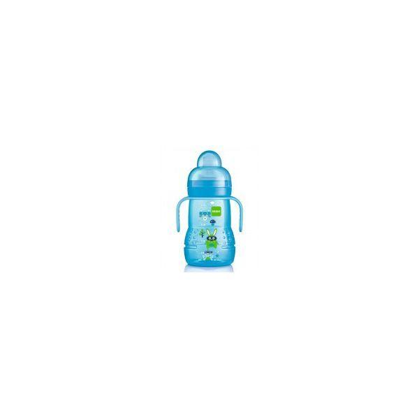 Biberon de Transition 220ml Bleu au meilleur prix| MAM