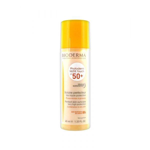 Photoderm Nude Touch SPF 50+ Teinte Dorée 40 ml moins cher| Bioderma