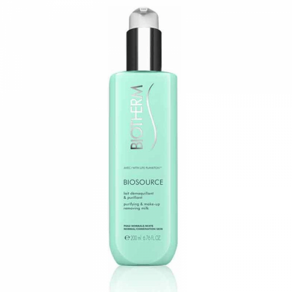 Biosource Lait Démaquillant Purifiant 200ml  à prix discount| Biotherm