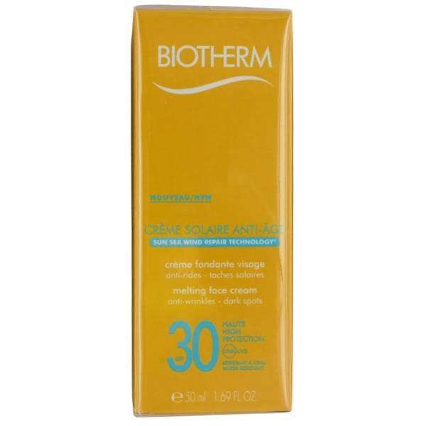 Solaire Crème anti-âge SPF30 50ml à prix bas| Biotherm