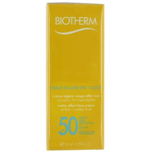 Solaire Crème Dry Touch SPF50 50ml moins cher| Biotherm