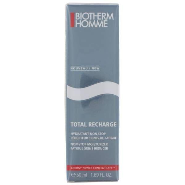 Homme Total Recharge Gel hydratant 50ml à prix bas| Biotherm
