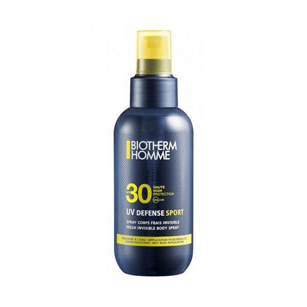 Homme UV Defense SPF30 Spray Corps 125ml au meilleur prix| Biotherm