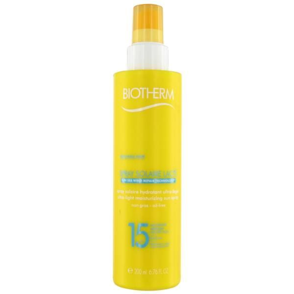 Solaire Spray Lacté Hydratant  SPF15 200ml au meilleur prix| Biotherm