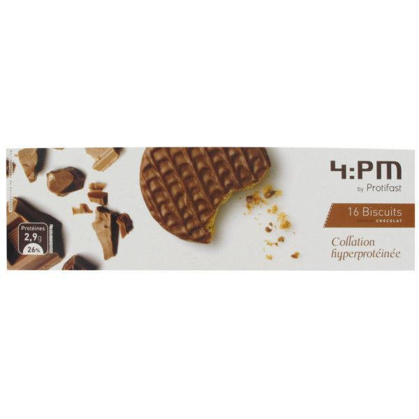 4:PM Biscuit saveur chocolat moins cher| Protifast