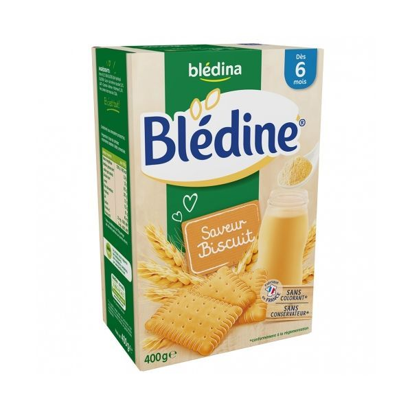 Blédine Saveur Biscuitée 400gr à prix discount| Blédina
