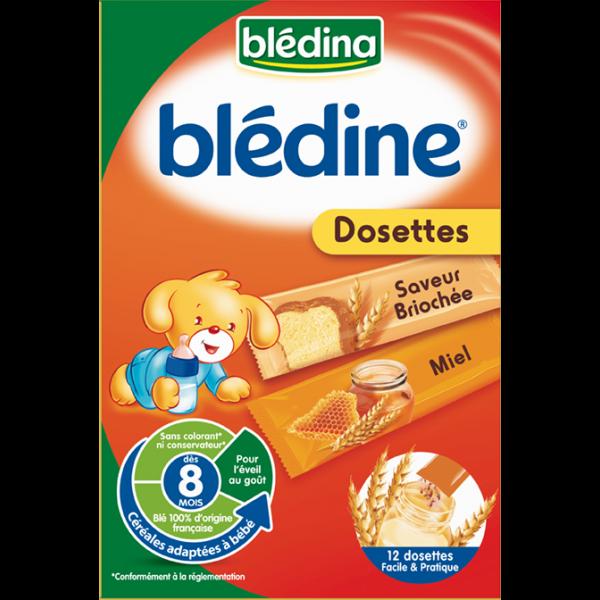 Blédine Miel Saveur Briochée 12 dosettes  moins cher| Blédina