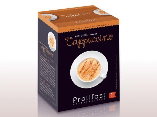 Boisson Cappuccino 7 Sachets à prix discount| Protifast