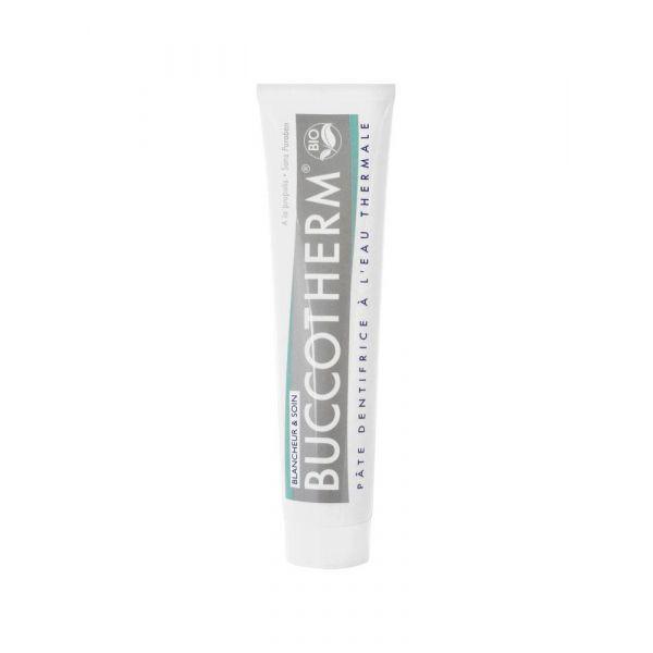 Achetez au meilleur prix Buccotherm dentifrice Blancheur et soin