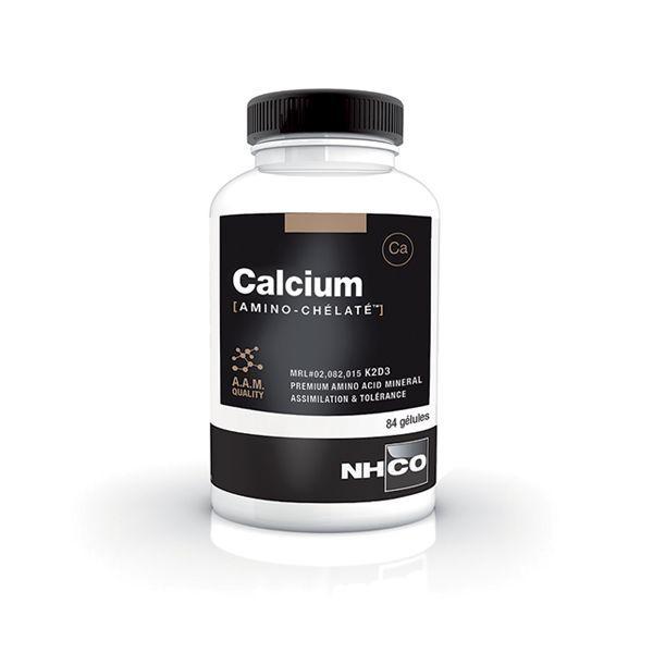 Calcium Amino-Chélaté 84 gélules moins cher| NH-CO