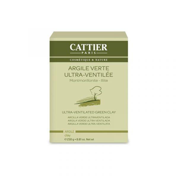 Argile Verte Ultra-Ventilée 250 gr. au meilleur prix  Cattier