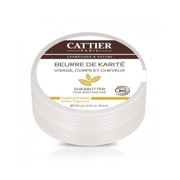 Beurre de Karité parfum Miel 100g. au meilleur prix| Cattier