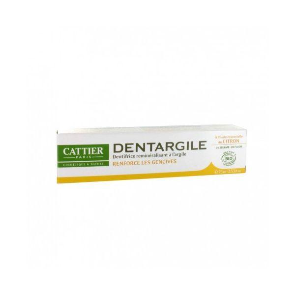 Dentargile Citron 75 ml. à prix discount  Cattier