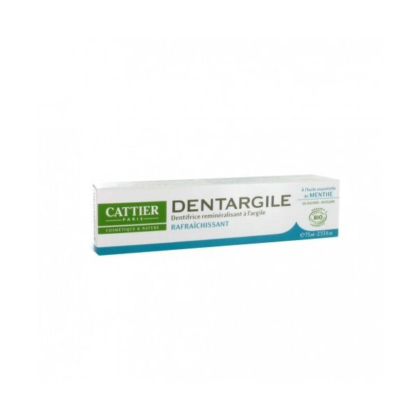 Dentargile Menthe 75 ml. au meilleur prix| Cattier