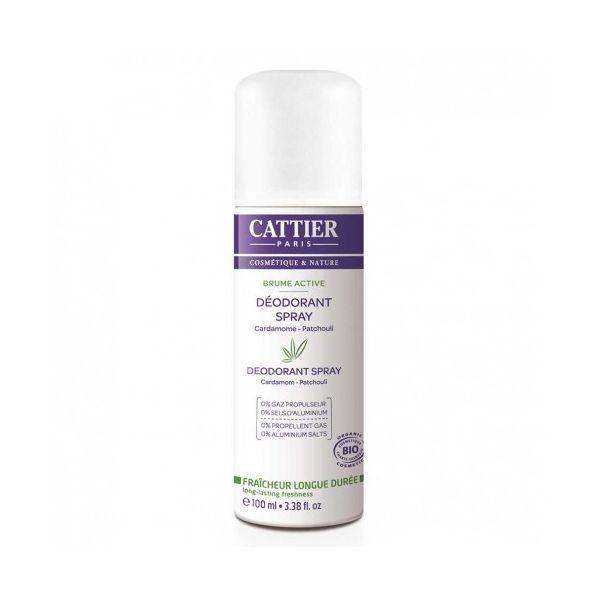 Déodorant Spray Brume Active 100 ml. moins cher| Cattier
