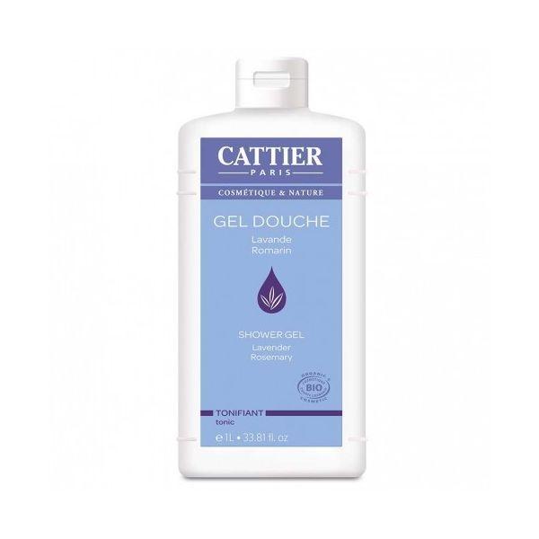 Gel Douche Tonifiant Lavande/Romarin 1 L. à prix discount| Cattier
