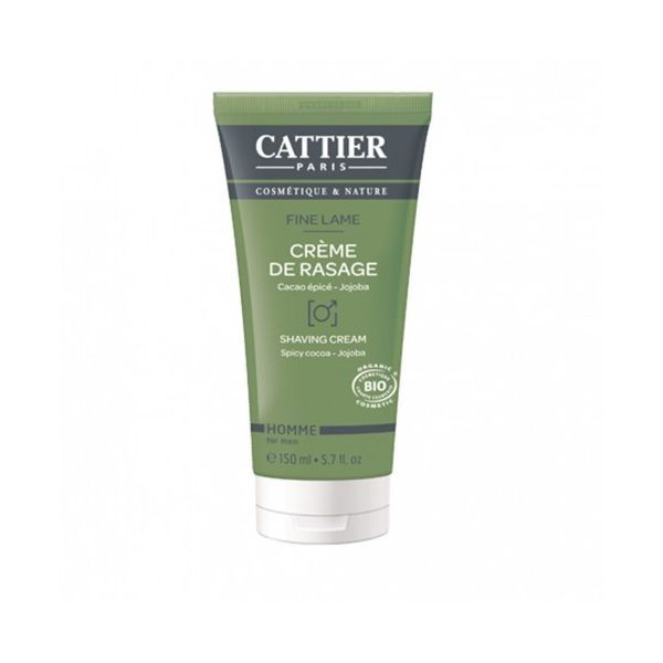 Crème de Rasage Fine Lame 150 ml. moins cher| Cattier