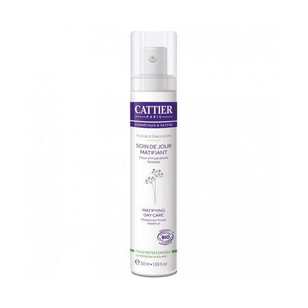 Soin de Jour Matifiant Fleur d'Emulsion 50 ml. à prix discount| Cattier
