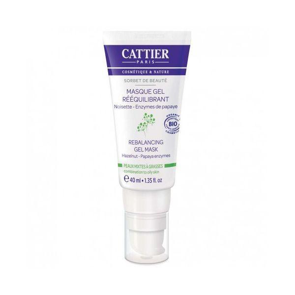 Masque Gel Rééquilibrant Sorbet de Beauté 40 ml. à prix discount  Cattier
