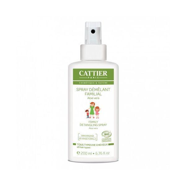 Spray Démêlant Familial 200 ml.  au meilleur prix  Cattier
