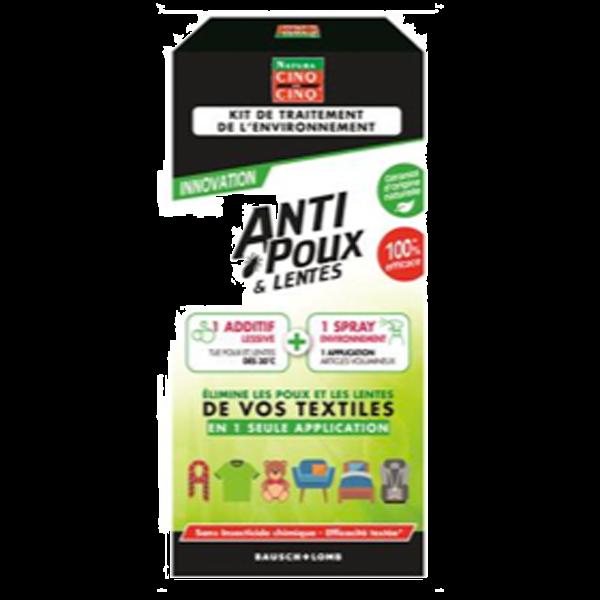 Achetez votre kit anti poux et lentes environnement Cinq sur Cinq
