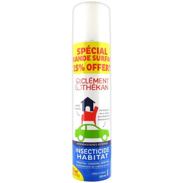 Insecticide Habitat 300ml + 25% Offert à prix discount| Clément Thekan