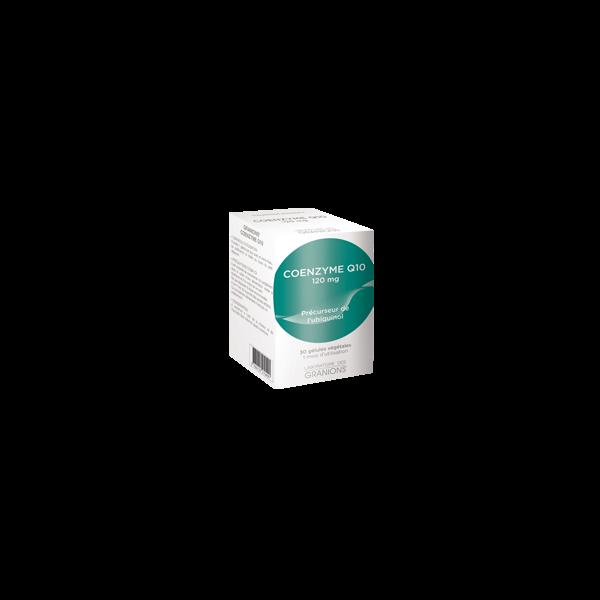 Coenzyme Q10 30 gélules à prix bas  Laboratoire des Granions